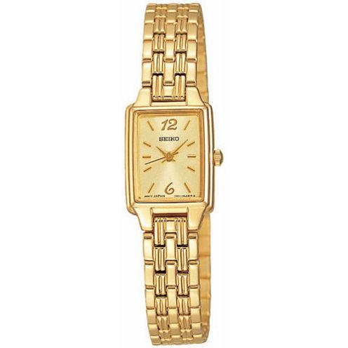 Seiko® Womens Dress Quartz Watch SXGL62