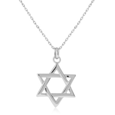 jcpenney.com | Sterling Silver Star of David Pendant Necklace
