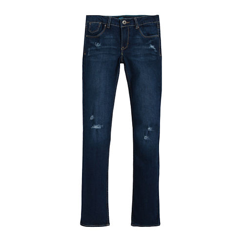 Levi's® Distressed Skinny Jeans - Girls 7-16