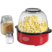 Nostalgia Electrics™ Red Stir Popcorn Maker