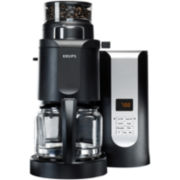 Krups® Grinder and Brewer 10-Cup Coffee Maker