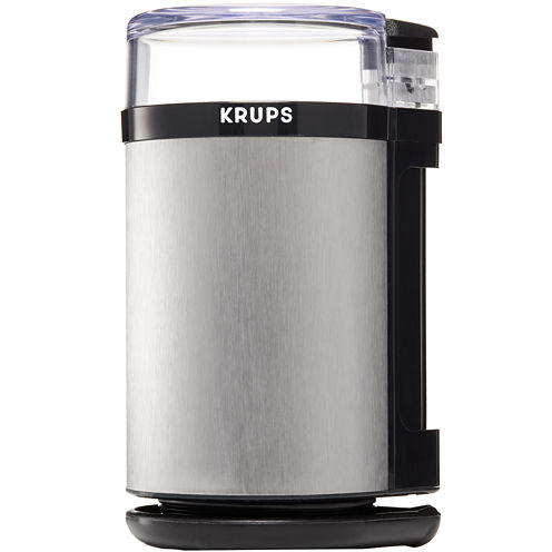Krups® F203 Electric Spice and Coffee Grinder with Stainless Steel Blades - Black