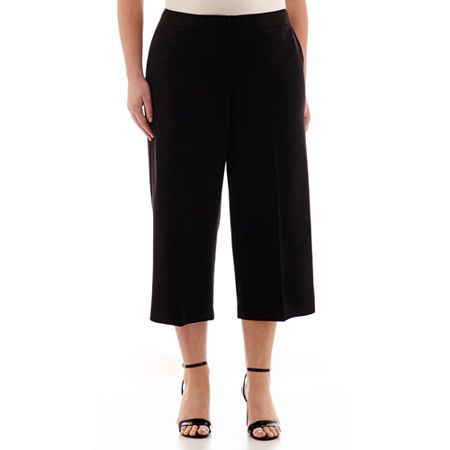 Worthington Woven Gaucho Pants - Plus