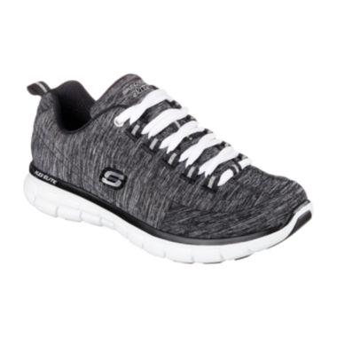 jcpenney.com | Skechers® Spot On Lace-Up Womens Sneakers