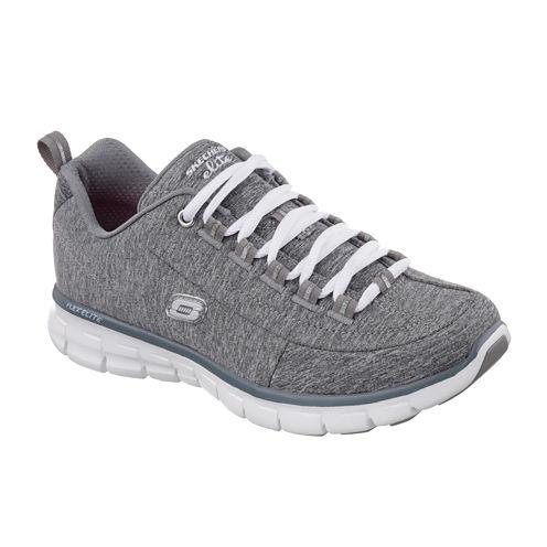 Skechers® Spot On Lace-Up Womens Sneakers - Wide Width