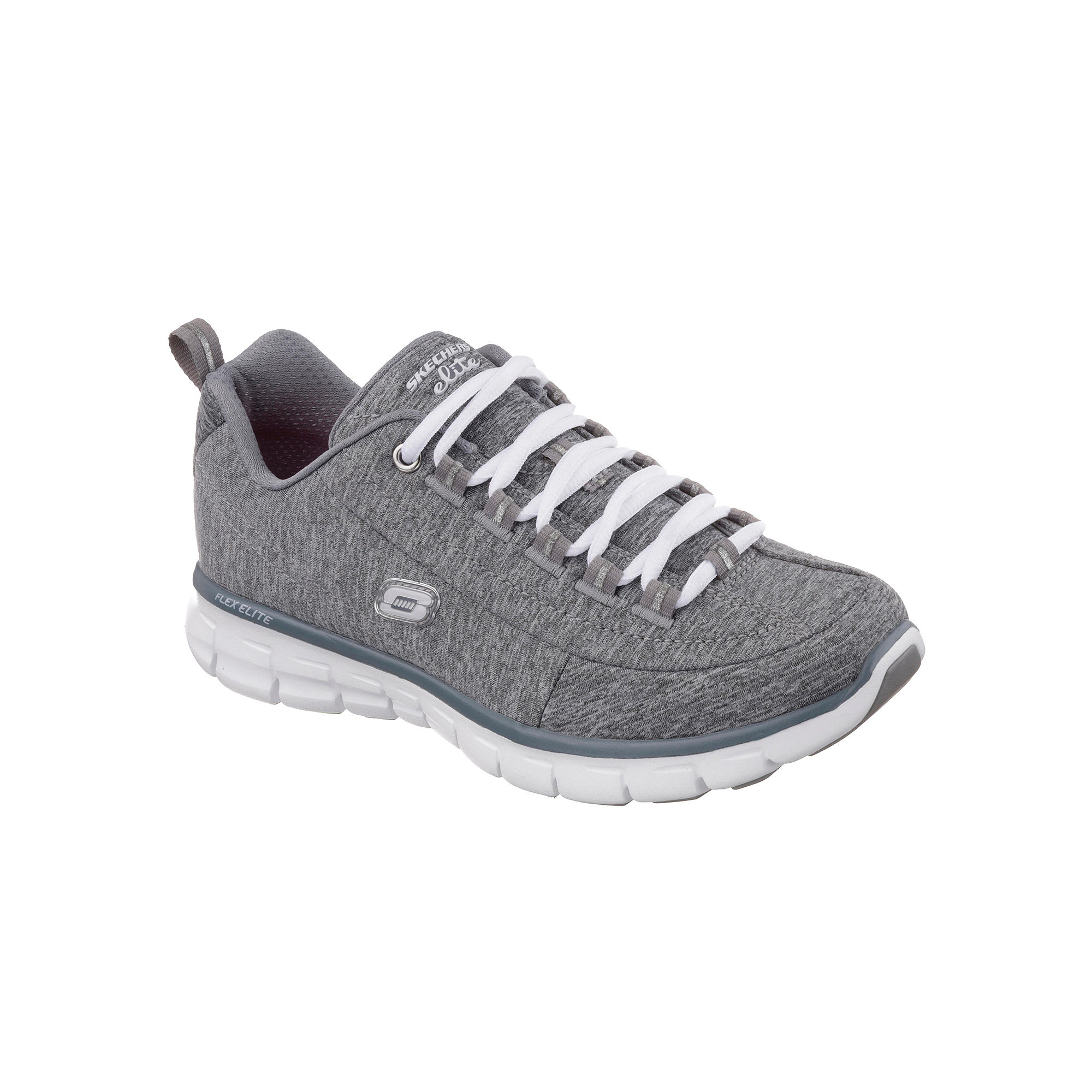 Skechers Spot On Lace-Up Womens Sneakers - Wide Width plus size,  plus size fashion plus size appare