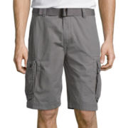 "Arizona 10½"" Inseam Belted Ripstop Cargo Shorts"