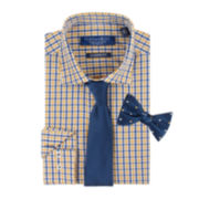 Graham & Co. Dress Shirt, Tie and Pre-Tied Bow Tie