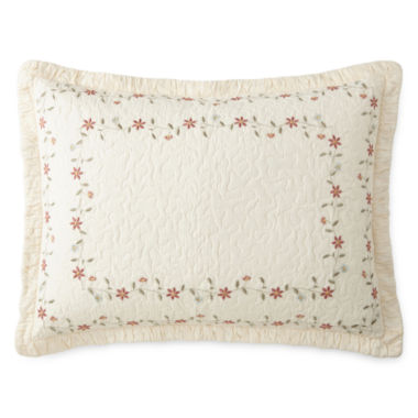 jcpenney.com | Home Expressions™ Avalon Embroidered Sham