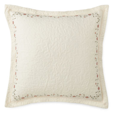 jcpenney.com | Home Expressions™ Avalon Embroidered Euro Sham