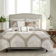 Madison Park Caroline Reversible 6-Pc. Coverlet Set