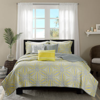 jcpenney.com | Madison Park Rhodes 6-pc. Coverlet Set