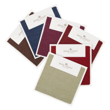 jcpenney.com | Royal Velvet® Encore Swatch Card