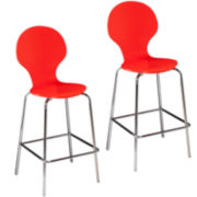 Holly And Martin Conbie Set of 2 Barstools