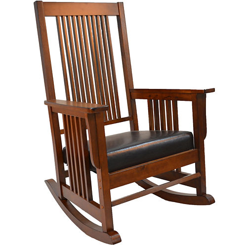Samuel Jefferson Mission Rocking Chair