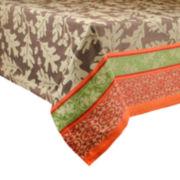 Great Oak Jacquard Cotton Tablecloth