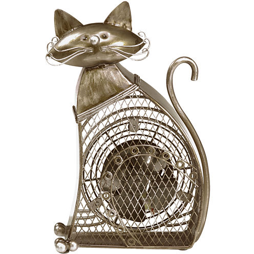 Deco Breeze Cat Figurine Fan