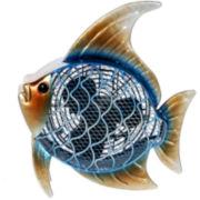 Deco Breeze Tropical Fish Figurine Fan