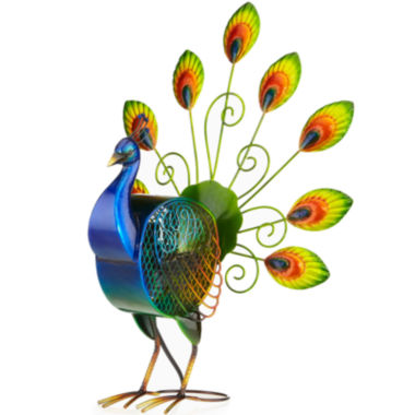 jcpenney.com | Deco Breeze Large Peacock Figurine Fan