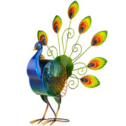Deco Breeze Large Peacock Figurine Fan