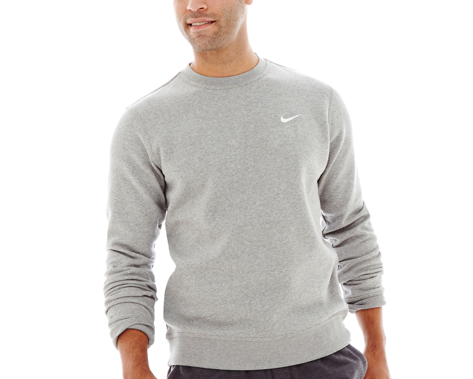 UPC 826218192111 - Nike Fleece Crewneck Sweatshirt | upcitemdb.com