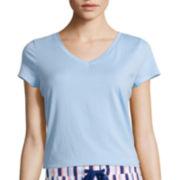 Liz Claiborne® Short-Sleeve Sleep Tee or Knit Sleep Pants