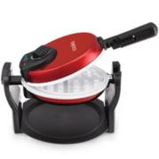 Cooks Electric Ceramic Flip Waffle Maker