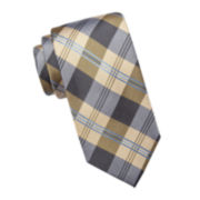 Stafford® Burlington Plaid Silk Tie
