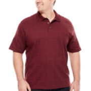 Van Heusen® Short-Sleeve Printed Polo Shirt - Big & Tall