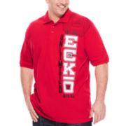 Ecko Unltd.® Short-Sleeve Cotton Polo Shirt - Big & Tall