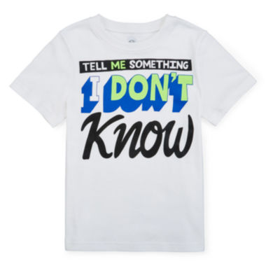 jcpenney.com | Okie Dokie® Short-Sleeve Tee - Preschool Boys 4-7