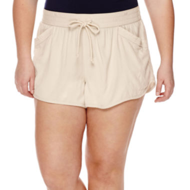 jcpenney.com | Arizona Dolphin Shorts - Juniors Plus