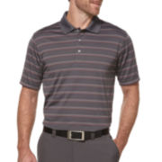 PGA TOUR® Performance Airflux Stripe Golf Polo - Big & Tall