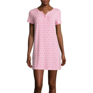 jcpenney.com | Cool Girl Short-Sleeve One-Button Nightshirt