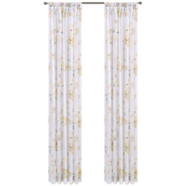 jcpenney.com | Imperial Garden Rod-Pocket Sheer Curtain Panel