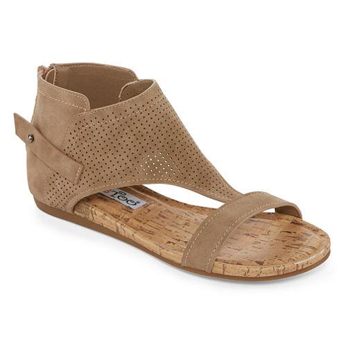 2 Lips Too Cami Womens Flat Sandals