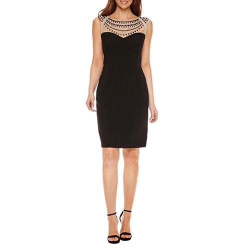 Jackie Jon Sleeveless Sheath Dress