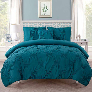 jcpenney.com | VCNY Monica Pintuck Comforter Set