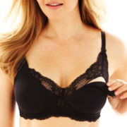 Spencer Microfiber and Stretch Lace Nursing Bra