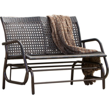 jcpenney.com | Maui Outdoor Wicker Swinging Bench