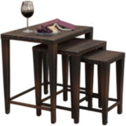 Set of 3 Outdoor Nesting Tables