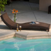 Cabo Wicker Outdoor Lounge Chair