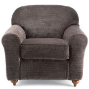SURE FIT® Royal Diamond Stretch Chair Slipcover