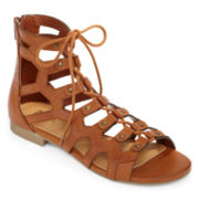 MIA girl  Gala Lace-Up Gladiator Sandals