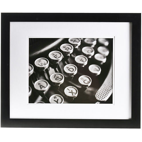 """Gallery Solutions Matted 11x14"""" Picture Frame"""