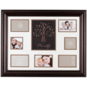 Family Tree 7-Opening Collage Picture Frame
