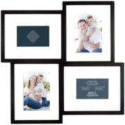 Gallery Solutions 4-Opening Collage Picture Frame