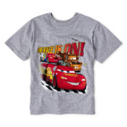 Disney Cars Gray Graphic Tee - Boys 2-12