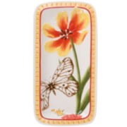 Fitz and Floyd® Flower Market Elongated Tray