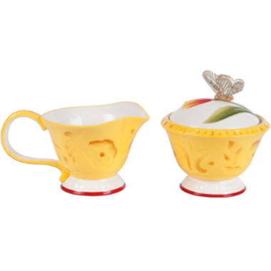 jcpenney.com | Fitz and Floyd® Flower Market Sugar and Creamer Set